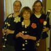 Rose Mattax of Forest Park, Alice Muciek of Oak Park, and Ann Masur of Oak Park are three women who together make The Fleurs de Chanson Recorder Trio.
